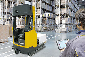 Smart Warehouse Logistics in the Age of Industry 4.0