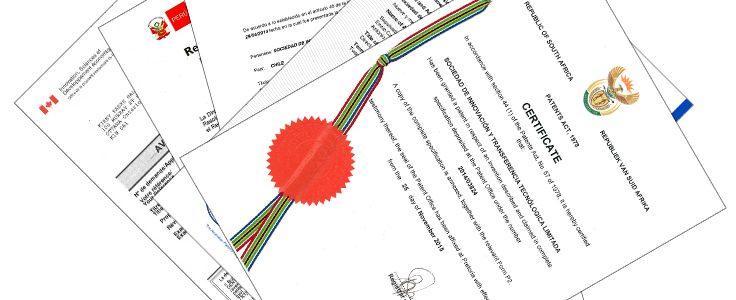 Exitosa Culminación de Patentamiento Internacional