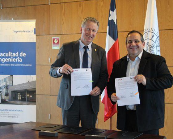 Universidad oficializa vínculo con Sociedad de Innovación y Transferencia Tecnológica