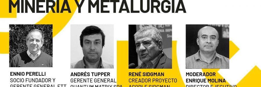 ETT en conversatorio sobre innovación en minería