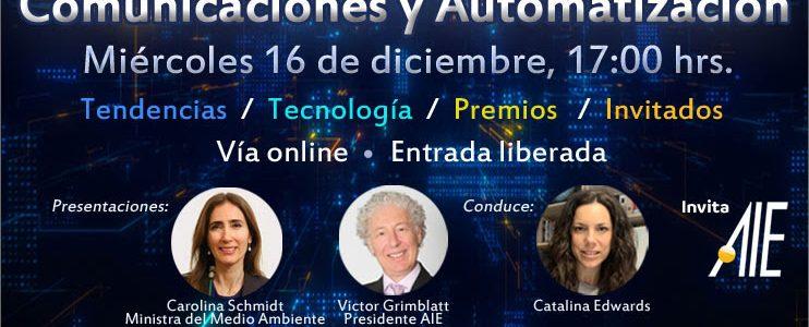 Encuentro Anual de la Industria Eléctrica, Electrónica, Comunicaciones y Automatización AIE 2020.