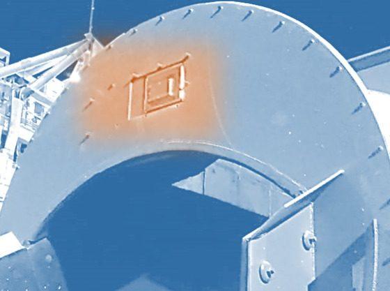 Nuevo SAG SCANNER para BHP en fase de instalación